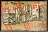 Bed Bath & Beyond Chicago Greetings Postcard on Box Wall Art