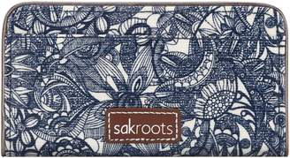 Sakroots Print Coated Canvas Slim Wallet