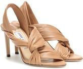 Jimmy Choo Laila 85 leather sandals