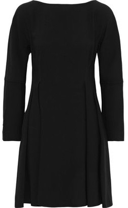 Proenza Schouler Pleated Crepe Mini Dress
