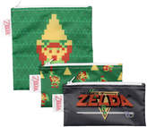 Bumkins Legends of Zelda Three-Piece Snack Bag Set