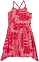 Crazy 8 Paisley Handkerchief Dress