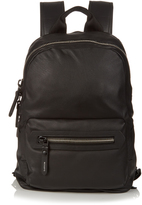 Lanvin Grained-leather backpack