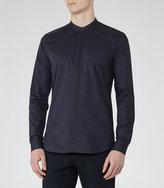 Reiss Franco Grandad Collar Shirt
