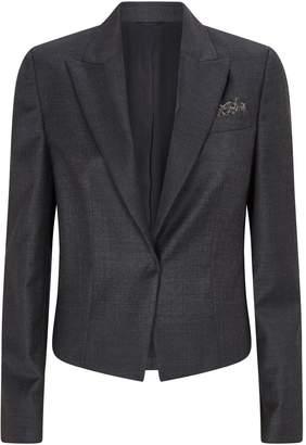 Brunello Cucinelli Wool Tailored Blazer