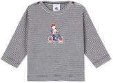 Petit Bateau Baby boys milleraies striped T-shirt