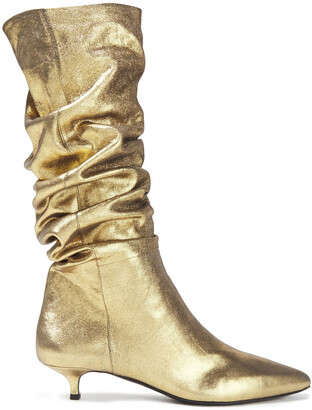 Zimmermann Metallic Leather Boots