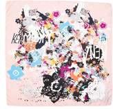 Kenzo Women's Graphic Silk Scarf