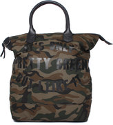 Pretty Green Opg Camouflage Tote Bag