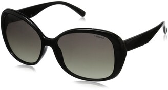 Polaroid Sunglasses Women's Pld4023s Polarized Oval Sunglasses