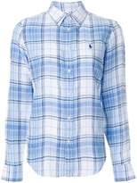 Polo Ralph Lauren Boy-fit plaid shirt