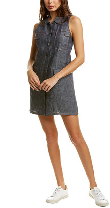Tsesay Linen Trench Dress