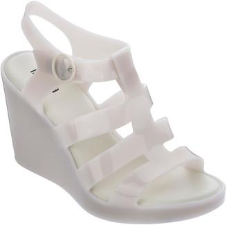 Melissa Peep Toe Platform Wedge Sandal