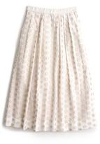 J.Crew Women's Fringe Dot Midi Skirt