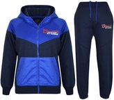 A2Z 4 Kids® KIDS BOYS TRACKSUIT DELUXE NY EDITION PRINT HOODIE & BOTTOM JOG SUIT AGE 7-13 Yr