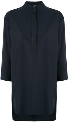 Egrey Mandarin Neck Shirt Dress
