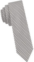 William Rast Silk Cotton Stripe Tie