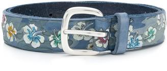 Orciani floral detail belt