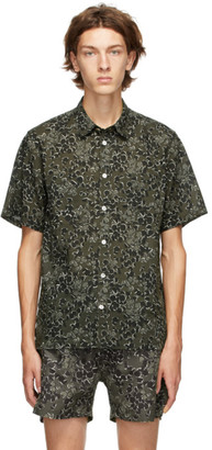 Norse Projects Green Oscar Print Shirt