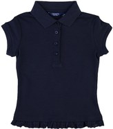 Chaps Girls 4-6x Eyelet School Uniform Polo