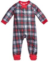 Family Pajamas 1-Pc Plaid Footed Pajamas, Baby Boys' or Baby Girls' (12-24 months) & Toddler Boys' or Toddler Girls' (2T-3T) Created for Macy's