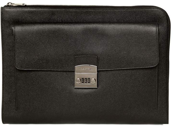 Dolce & Gabbana Dauphine Leather Document Holder