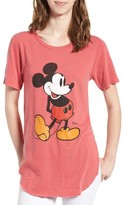 Junk Food Clothing Women's Mickey Mouse Long Tee