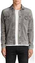 AllSaints Ginan Denim Jacket, Grey