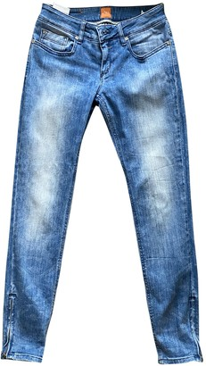 BOSS ORANGE Blue Cotton Jeans for Women