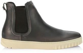 Salvatore Ferragamo Talos Leather Chelsea Sneakers