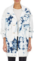 Faith Connexion Women's Tie-Dyed Denim Oversized Jacket