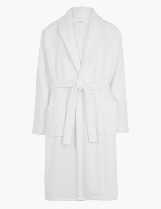 Marks and Spencer Cotton Supersoft Towelling Dressing Gown