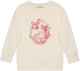 Gucci Children's Fredrick Warne print sweatshirt