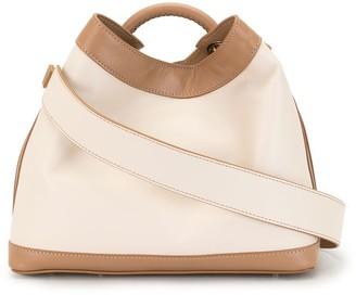 Elleme Raisin leather tote bag