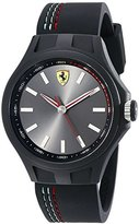 Ferrari Men's 830218 Pit Crew Analog Display Quartz Black Watch