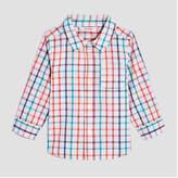 Joe Fresh Baby Boys' Long Sleeve Checkered Shirt