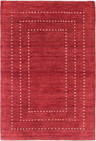 Ecarpetgallery Luribaft Gabbeh Riz Hand-Knotted Wool Rug
