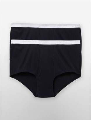 Calvin Klein 2 Pack Big + Tall Briefs