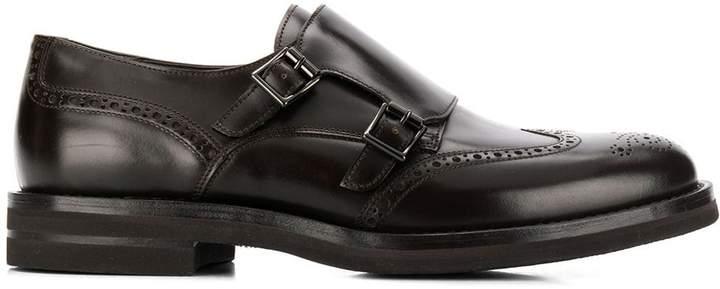 Brunello Cucinelli double monk strap shoes
