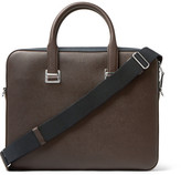 Dunhill Cadogan Cross-grain Leather Briefcase