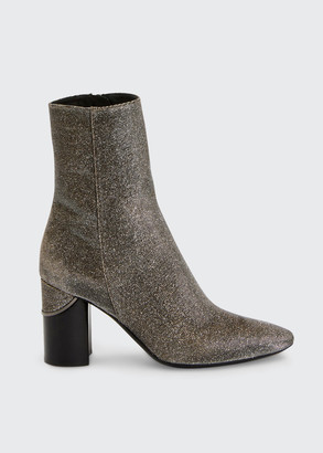 Aquatalia Phila Sparkle Zip Booties