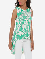 The Limited Sleeveless Hi-Low Cotton Tunic