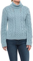 J.G. Glover & CO. Peregrine Turtleneck Sweater - Peruvian Merino Wool (For Women)