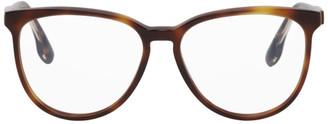 Victoria Beckham Tortoiseshell Round Glasses