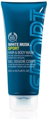 The Body Shop White Musk Sport Hair & Body Wash