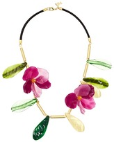 French Connection Flower Statement Necklace