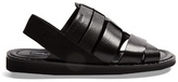 Dolce & Gabbana Multi-strap Leather Sandals