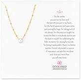 """Dogeared Pearls Of ... Pendant Necklace, 16"""""""