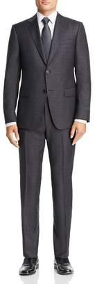 Ermenegildo Zegna Plaid Slim Fit Suit
