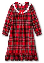 Komar Kids Girls' Holiday Plaid Gown - Red